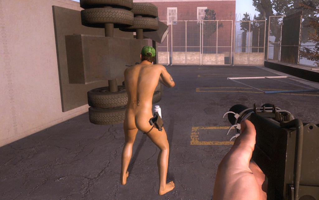 Left 4 Dead 2 nude mod